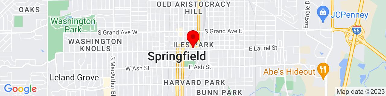 Google Map of 39.7834218, -89.6455012