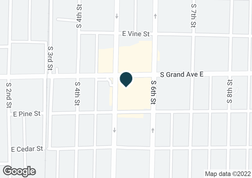 Google Map of1310 S 5TH ST