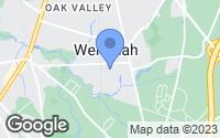 Map of Wenonah, NJ