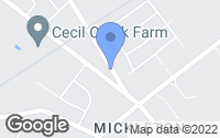 Map of Mickleton, NJ