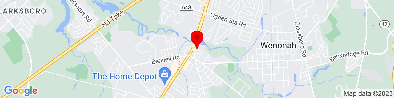 Google Map of 39.7937758, -75.1715177