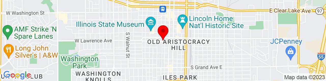 Google Map of 39.7941698, -89.65153049999999