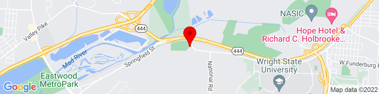 Google Map of 39.7945298, -84.08467499999999