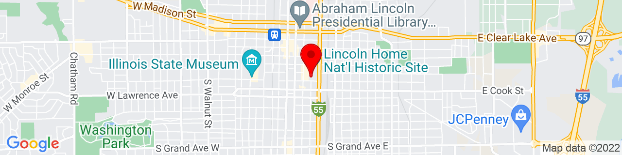 Google Map of 39.796551, -89.6451586