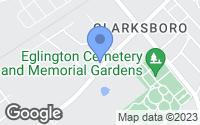 Map of Clarksboro, NJ
