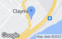 Map of Claymont, DE