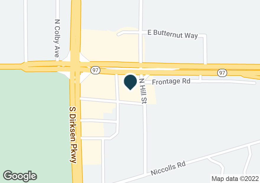 Google Map of3216 E CLEAR LAKE AVE