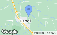 Map of Carroll, OH