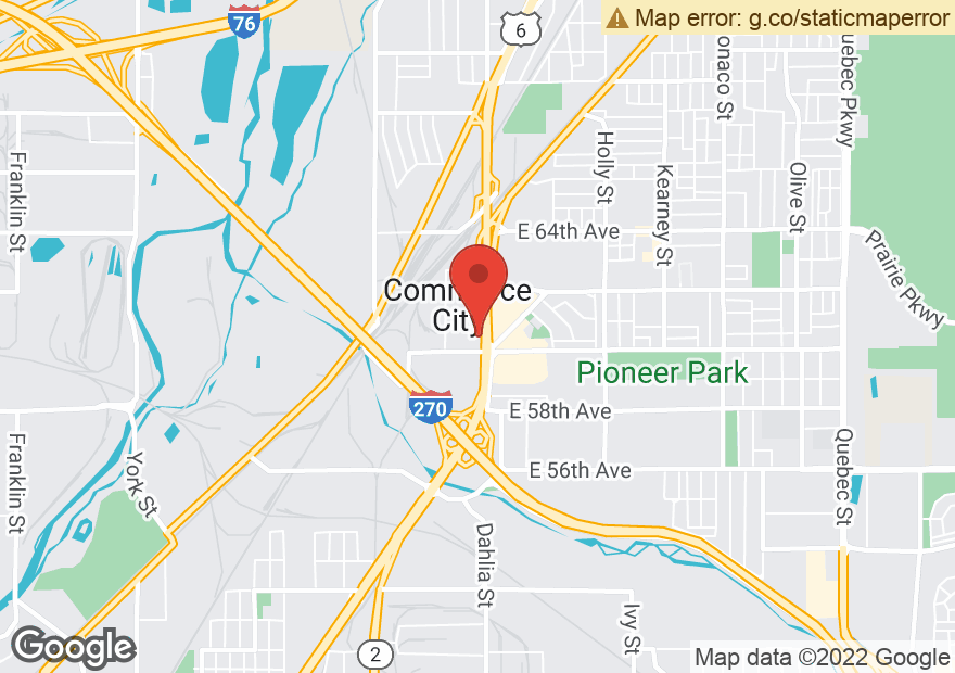 Google Map of 6011 DEXTER ST