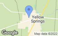 Map of Yellow Springs, OH