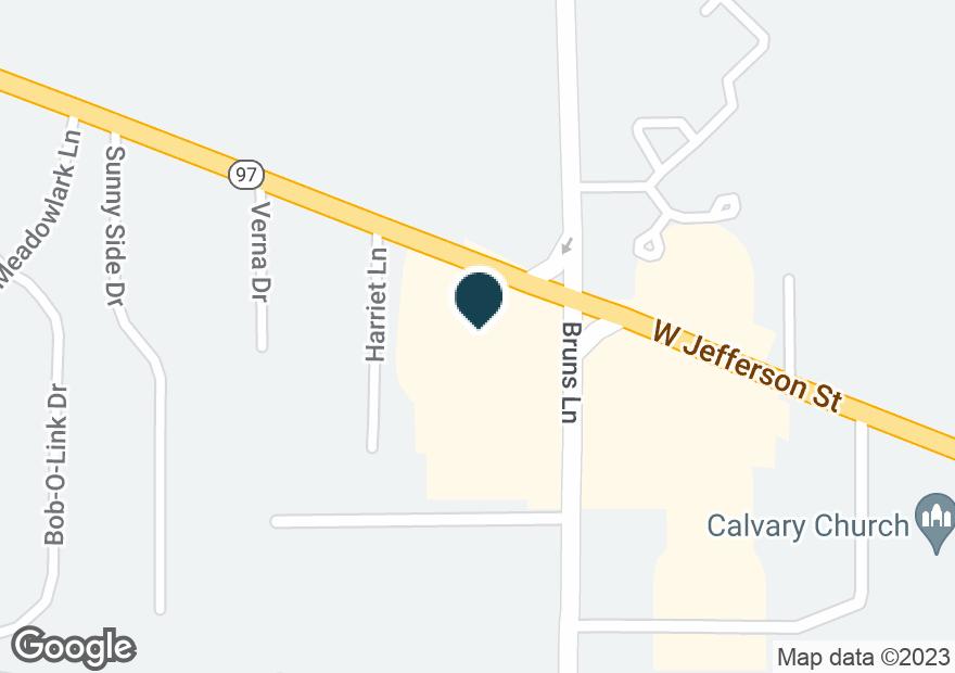 Google Map of1900 W JEFFERSON ST