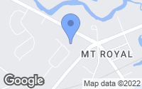 Map of Mount Royal, NJ