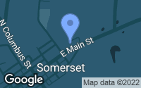 Map of Somerset, OH