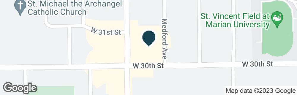 Google Map of3003 KESSLER BLVD NORTH DR