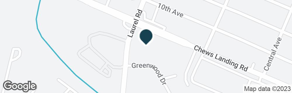 Google Map of630 CHEWS LANDING RD
