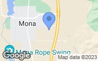 Map of Mona, UT