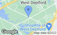 Map of West Deptford, NJ