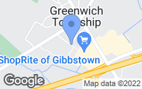 Map of Greenwich Township, NJ