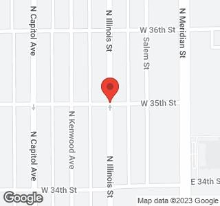 3537 North Illinois Street