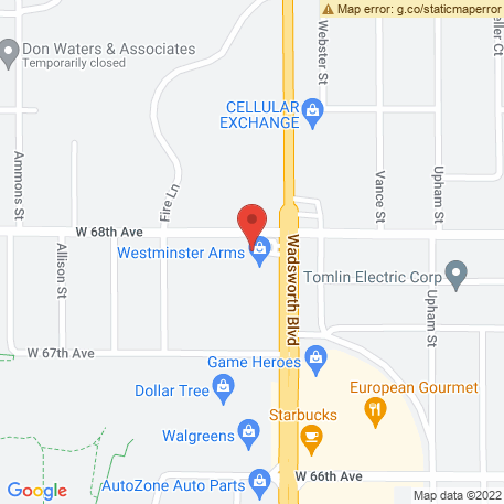 Tommys Camper & Car Wash on Map (7610 W 68th Ave, Arvada, CO 80004) Map