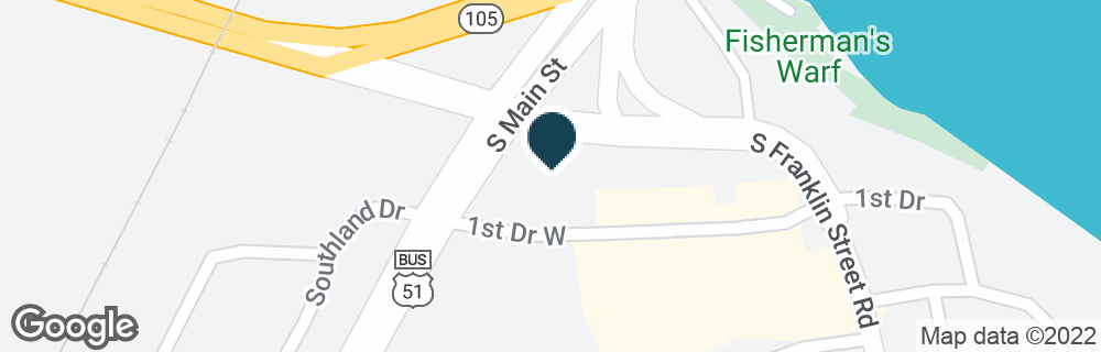 Google Map of420 W 1ST DR