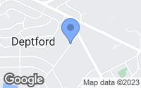 Map of Deptford Township, NJ