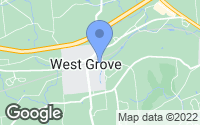 Map of West Grove, PA
