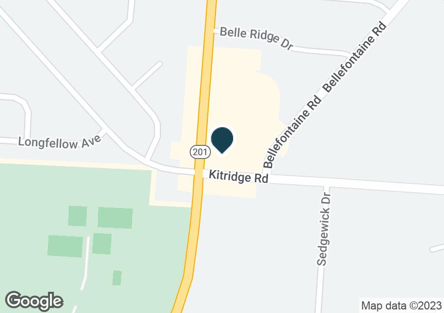 Google Map of5000 BRANDT PIKE