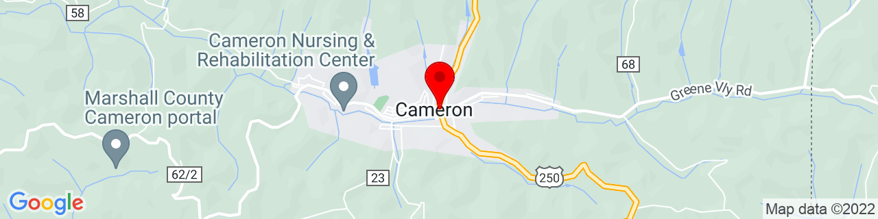 Google Map of 39.8269949, -80.565769
