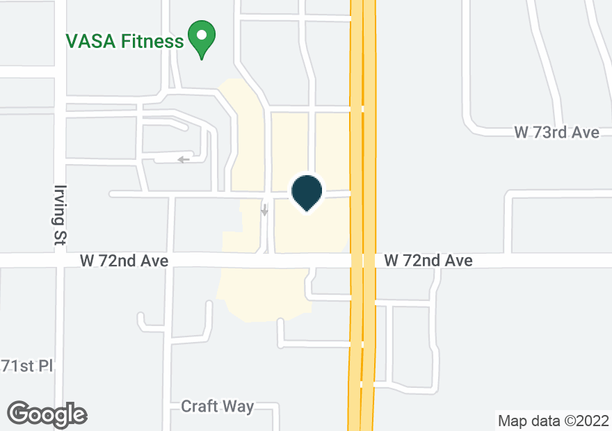 Google Map of7211 FEDERAL BLVD