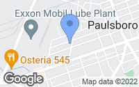 Map of Paulsboro, NJ