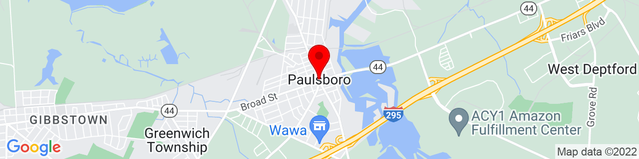 Google Map of 39.830391, -75.2404607