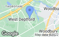 Map of West Deptford, NJ
