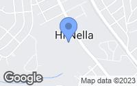 Map of Hi-Nella, NJ