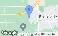 Map of Brookville, OH