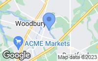 Map of Woodbury, NJ