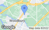 Map of Woodbury, NJ