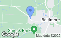 Map of Baltimore, OH