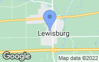 Map of Lewisburg, OH