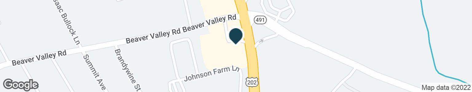 Google Map of190 WILMINGTON W CHESTER PIKE