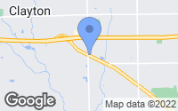 Map of Clayton, OH