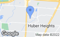 Map of Huber Heights, OH