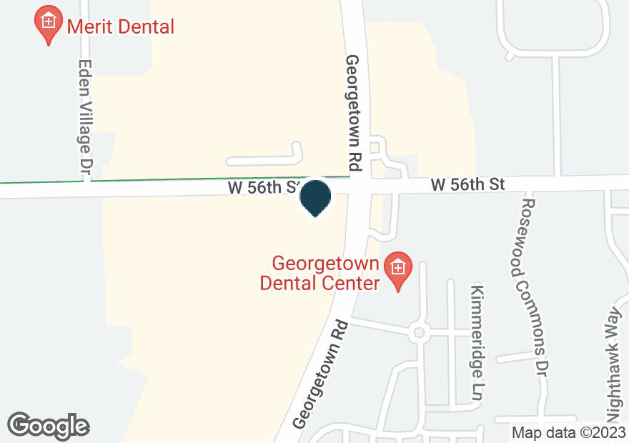 Google Map of5580 GEORGETOWN RD