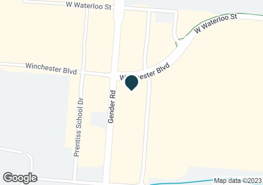 Google Map of6266 GENDER RD