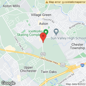 Map of Terminix at 204 Turner Industrial Way, Aston, PA 19014