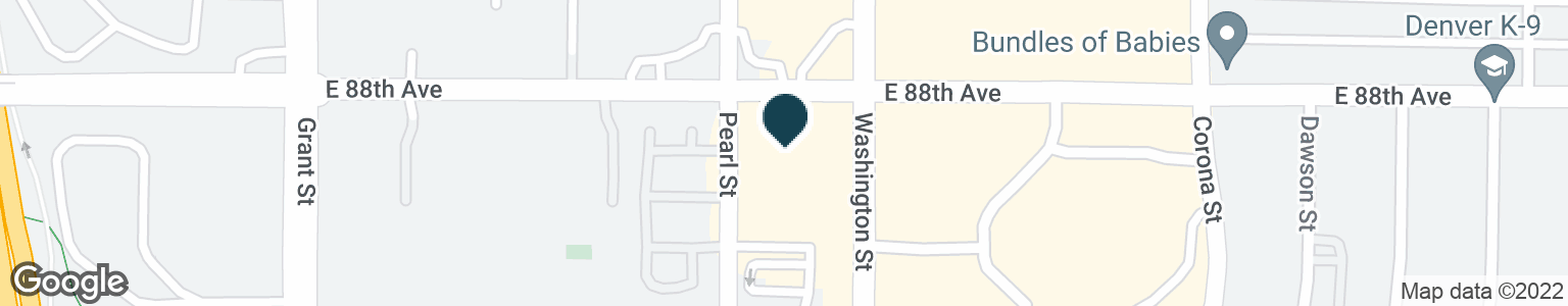 Google Map of8799 WASHINGTON ST