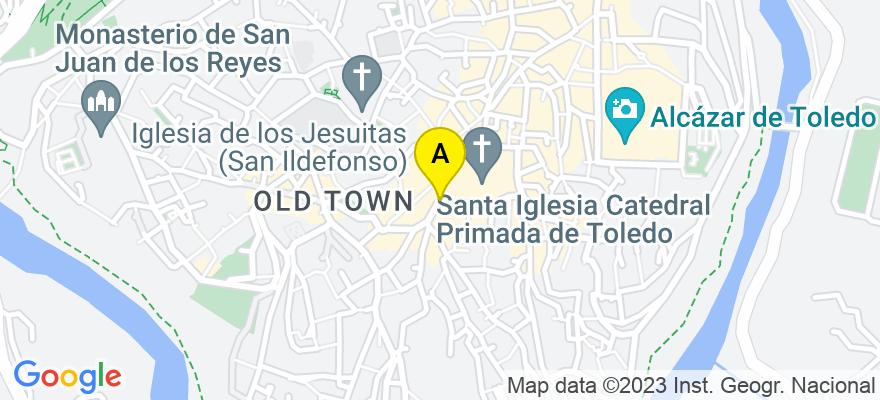 situacion en el mapa de . Direccion: Calle Salto del Caballo, 3, Planta Baja, Despacho 9, 45003 Toledo. Toledo