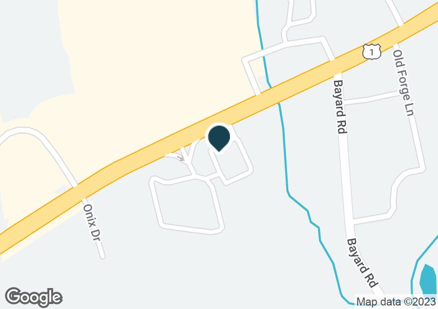 Google Map of840 E BALTIMORE PIKE