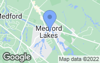 Map of Medford Lakes, NJ