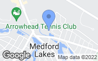 Map of Medford, NJ